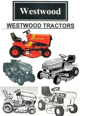 Westwood Ride on Mower Manual + Full Parts List