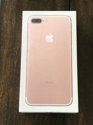 Apple iPhone 7 Plus - 128GB - Rose Gold Replacement BOX, BOX ONLY, No Phone