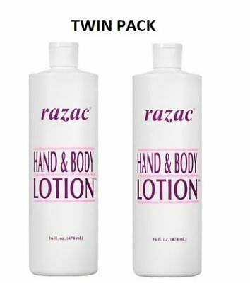2 X Razac Hand & Body lotion 474ml **TWIN PACK**