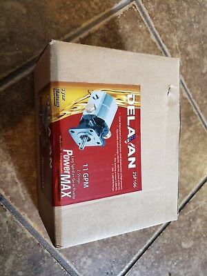 Delavan PowerMAX 2-Stage 11 GPM Hydraulic Log Splitter Gear Pump - Ships Free!