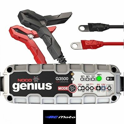 Noco Genius G3500 Motorcycle Battery Charger 12V 6V