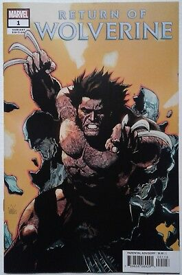 RETURN OF WOLVERINE #1 Yu VARIANT Soule McNiven NM 1st print