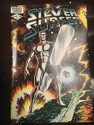 2 Marvel Comics Group Silver Surfer Vol. 2 #1 1982 John Byrne MINT