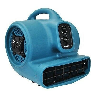 XPOWER Freshen Aire P-450AT 1/3 HP Scented Air Mover with Daisy Chain
