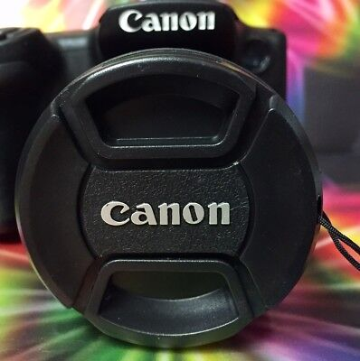 To Camera CANON PowerShot SX50 SX520 SX530 SX540 HS -> Snap-On LENS CAP +HOLDER