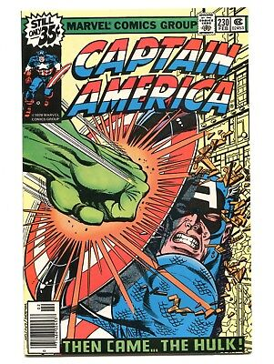 1979 Marvel Captain America #230 Hulk Near Mint 9.4 D5
