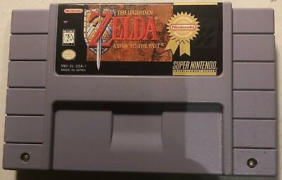 Legend of Zelda: A Link To The Past (Super Nintendo SNES, Players Choice)