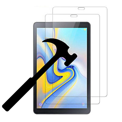 2 Pack Tempered Glass Screen Protector for Galaxy Tab A 10.5 (SM-T590/T595) 2018