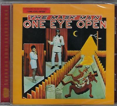 THE MASK MAN & THE AGENTS  One Eye Open  NEW Sealed R&B CD  2 LPs on 1 CD  21trx