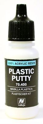 VAL70400 Vallejo Auxiliary Products: Plastic Putty (17ml)