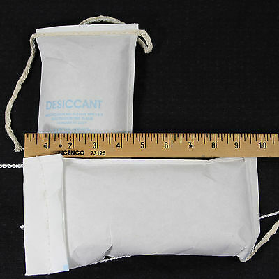2 LARGE Clay Desiccant Bags, String-Sewn - Ships From USA! -  Absorb Moisture