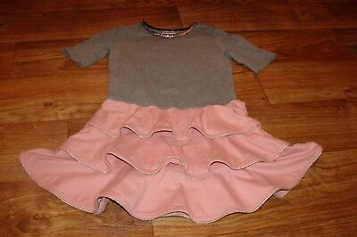 Hanna Andersson Little Girls Size 7 To 10 Years Gorgeous Ruffled Bottom Dress