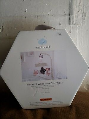 Cloud Island Musical & White Noise Crib Mobile / Forest - Open Box