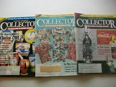 The Antique Trader's Price Magazine & Price Guide (3) 1997 Issues