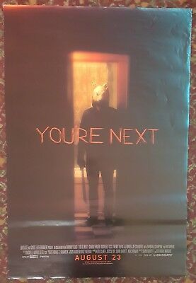 YOU'RE NEXT Original Movie Poster 27x40 Authentic Final Version