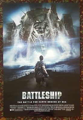 BATTLESHIP Original Movie Poster 27x40 2-Sided Authentic Final Version