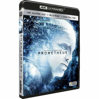 Blu-ray Prometheus [4K Ultra HD + Blu-ray + Digital HD]