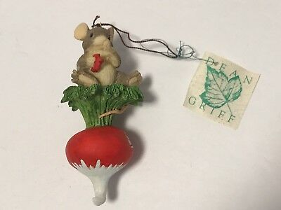 Charming Tails THIS IS HOT! Christmas Ornament By Dean Griff / EUC