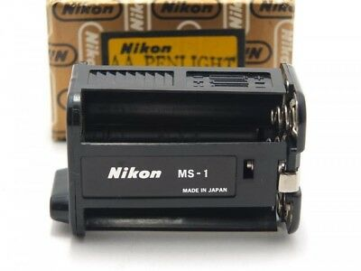 Near MINT Nikon MS-1 AA Penlight Battery Holder for MB-1 Battery Pack from Japan