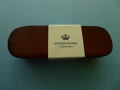 Stolen Riches Shoe Shining Boars Hair Brush Wood Retail Price $20