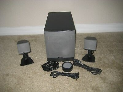 Bose Companion 3 Series II Multimedia 2.1 Desktop Speaker system