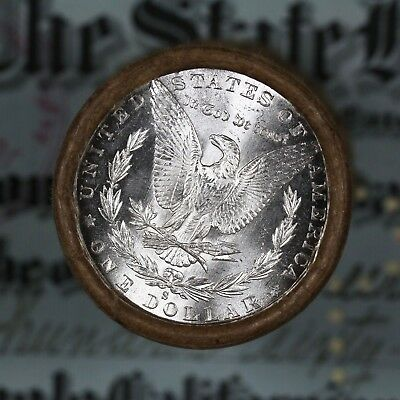 $20 SILVER DOLLAR ROLL S-Mint and S-Mint PROOF-LIKE MORGAN DOLLAR ENDS