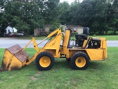 SWINGER  DIESEL articulating  4x4  Wheel Loader