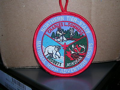 Northern Tier National High Adventure Canoe Base  (Staff)  Patch