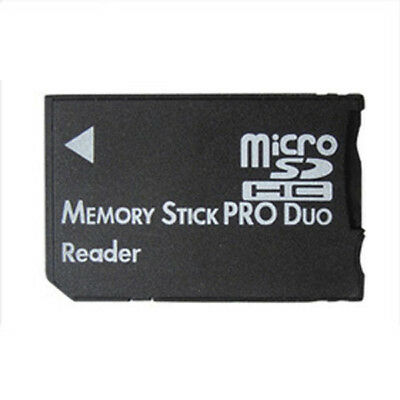 Micro SD SDHC TF to Memory Stick MS Pro Duo Card Reader PSP Adapter Converter