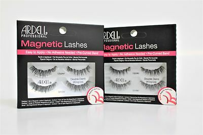 23ae919be8f Ardell Magnetic Strip Lashes - Double Demi Wispies Eyelashes With  Applicator x 2