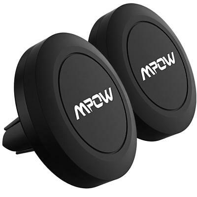 [2 Packs] Magnetic car mount,Mpow Air Vent Car Mount Magnetic Cell Phone Car Mou