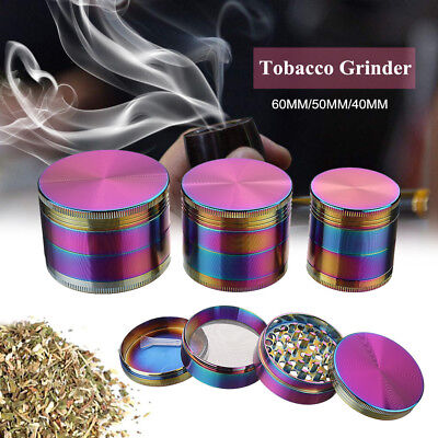 Zinc Alloy 4 Layers 40mm Tobacco Herb Grinder Crusher High Quality New Design