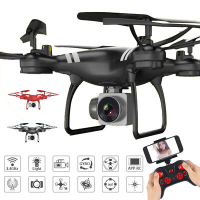 KY101 2.4G 4CH 6Axis FPV Drone With Wifi FPV HD Adjustable Camera RC Quadcopter