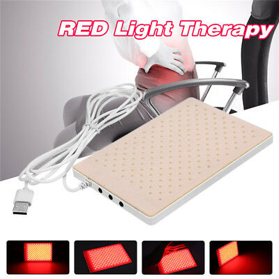 Red Light Infrared LED Therapy Pad LEC Deep Penetration Pain Relief Safe Healing