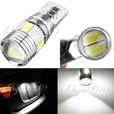 HID White CANBUS T10 W5W 5630 6-SMD Car Auto LED Light Bulb Lamp 194 192 158 168