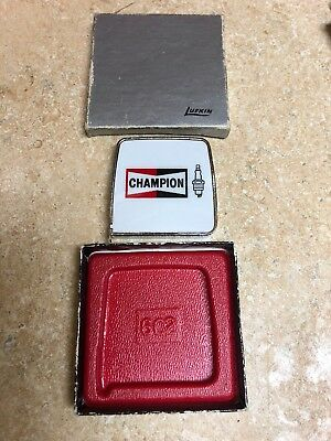 Champion Spark Plugs  New Advertising Ruler Rule Chevy Ford Resistor Plugs