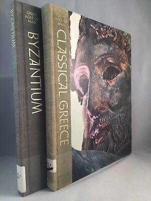 2 Time Life Great Ages of Man HB Books - Classical Greece & Byzantium