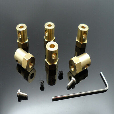 3mm/4mm/5mm/6mm/7mm/8mm Flexible Motor Shaft Coupling Coupler for DIY Part 9UK
