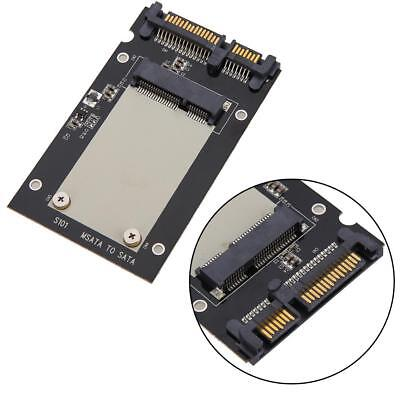 "S101-1M-PCBA MSATA SSD to 2.5"" SATA Convertor Adapter Card Enclosure SSD Case"