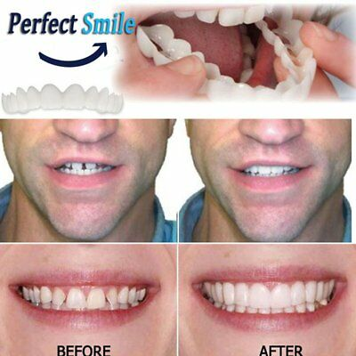 Comfortable Snap On Tooth Instant Perfect Smile Whitening Smile Teeth CoverDGSK