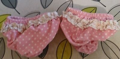 Girls mothercare swim nappies 6-12 months x2