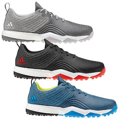 check out 7d6a5 e767c 2019 Adidas Mens AdiPower 4orged S Golf Shoes - New Waterproof Boost  Spikeless