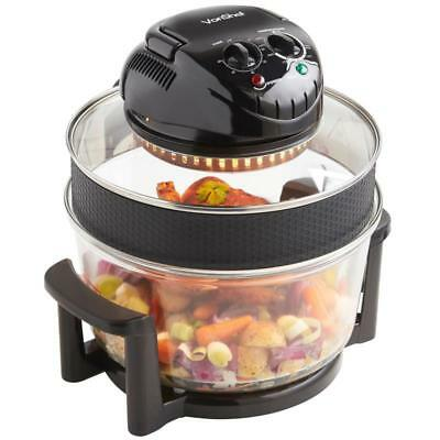 Self Cleaning Halogen Oven Chicken Veg Cooker Healthy Cooking Kitchen Appliance