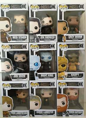 Funko POP! Vinyl GOT Game of Thrones Ned Stark Jon Snow Tyrion Night King POP!!!