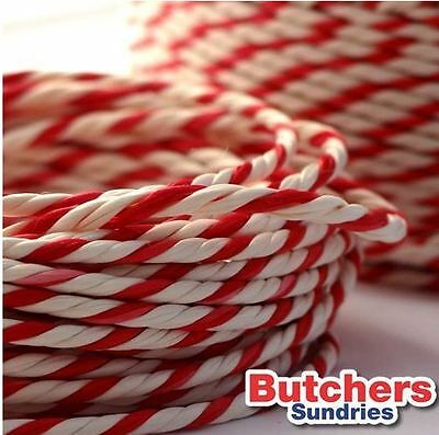 10 Metres Bakers Twine Red and White Twine/ String, Ideal for Arts & Crafts