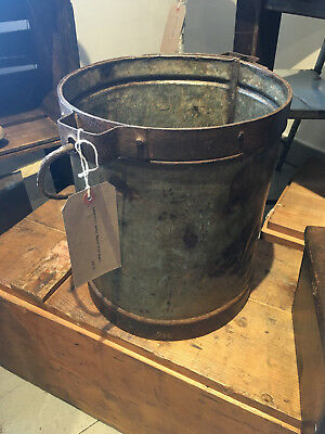 Vintage Retro Industrial Decorative Bucket Planter