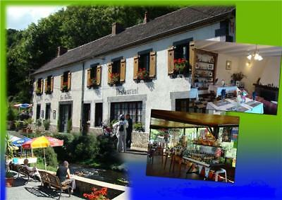 Café/Restaurant and B & B For Sale Situated In The Auvergne (central France)