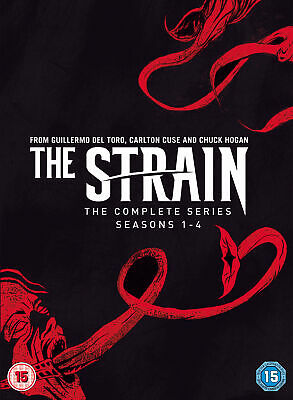 The Strain Complete Series, Seasons 1-4 [2018] (DVD)