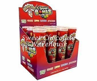 Warheads Sour Bombs - 12 Pieces