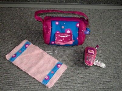 Friends 2B Made Doll-Gym Bag-Towel-Cell Phone- Lot K7
